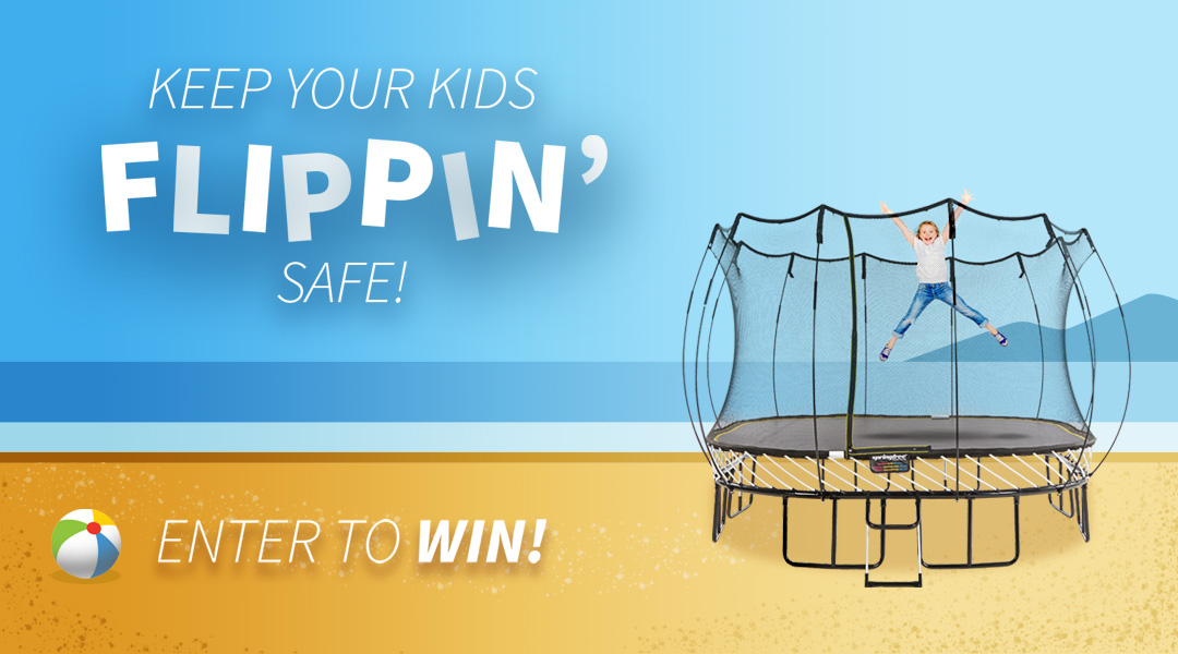 Enter for a chance to win a Springfree Trampoline!