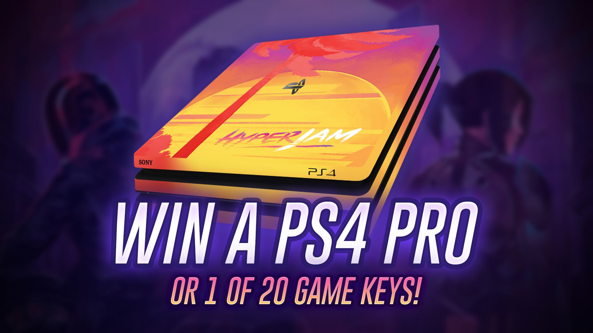 Hyper Jam PS4 Pro Giveaway