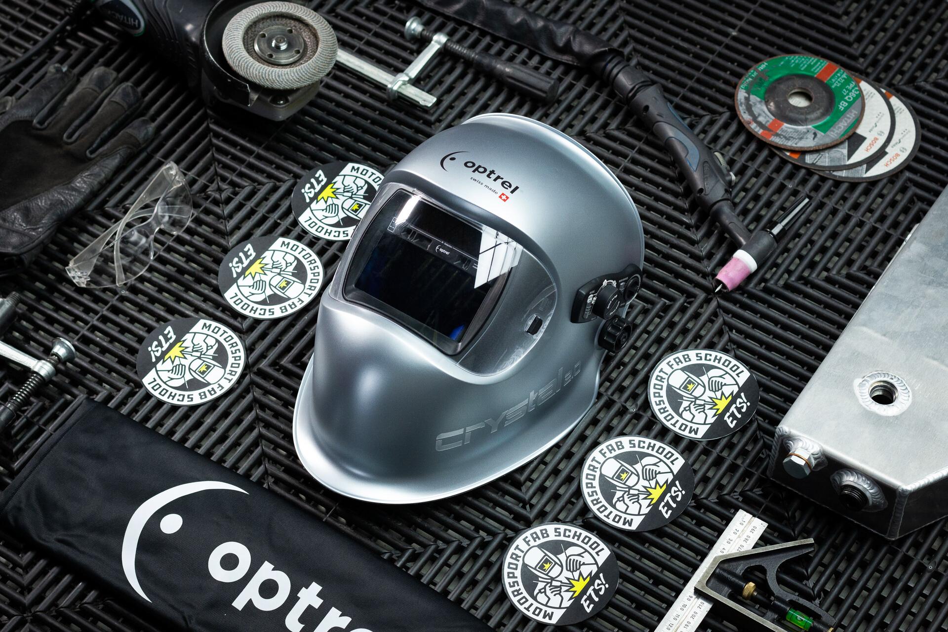 GIVEAWAY: Optrel Welding Helmet + Training courses + Earnest Apron