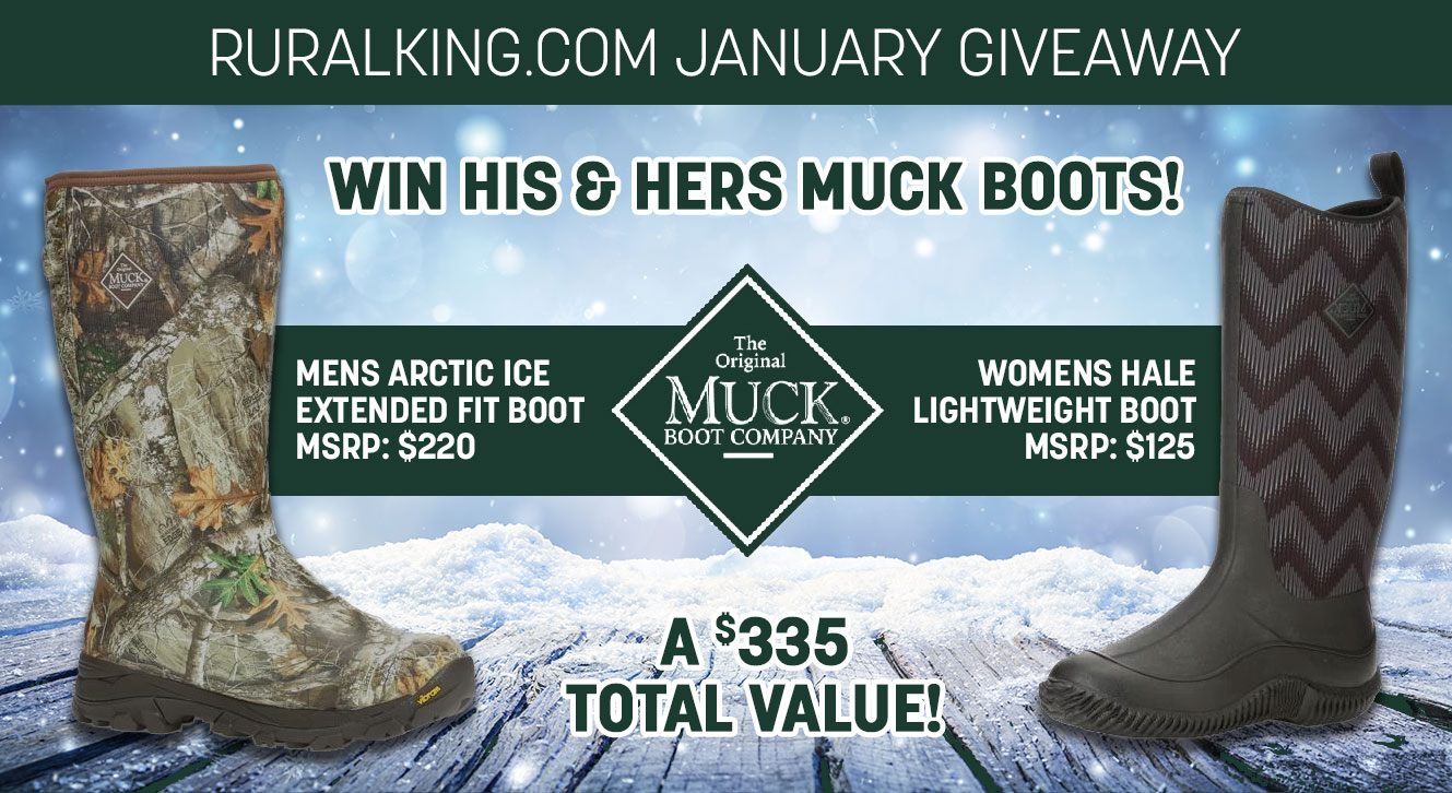 Win His and Hers Muck Boots! Giveaway Image