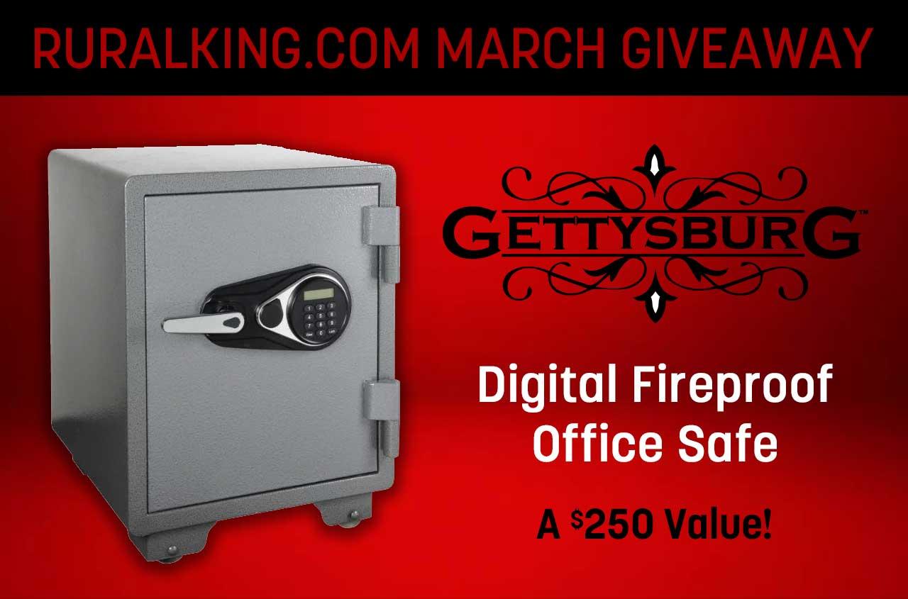 Win a digital fireproof office safe ($250 value) Giveaway Image