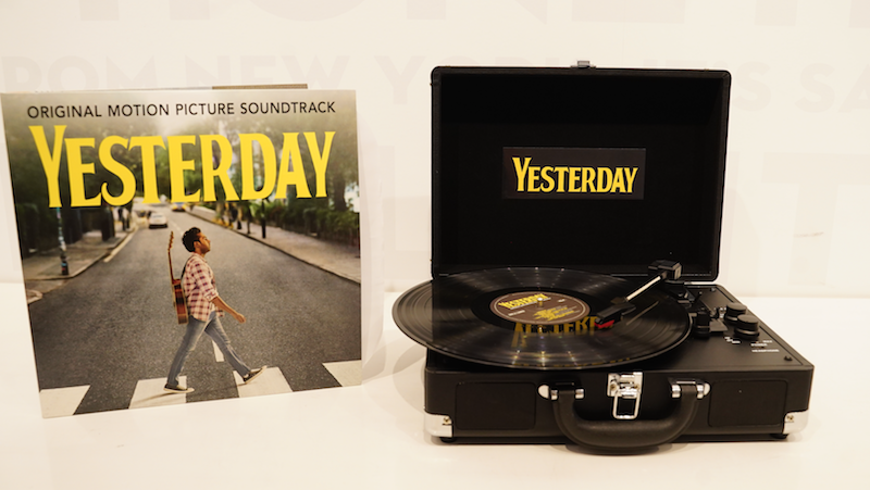 Yesterday Blu-ray/dvd, Vinyl Ost, And Portable Record Player Bundle
