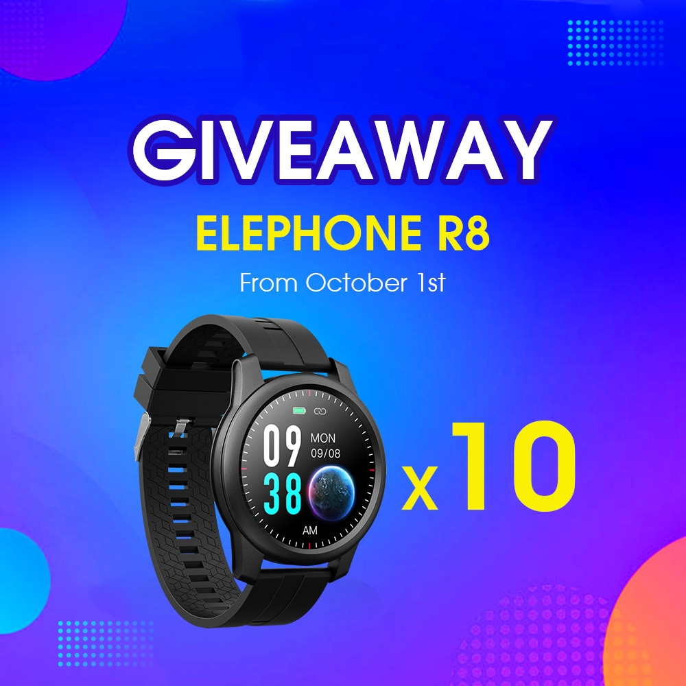 Win 1 of 10 ELEPHONE R8 Smartwatch Giveaway Image