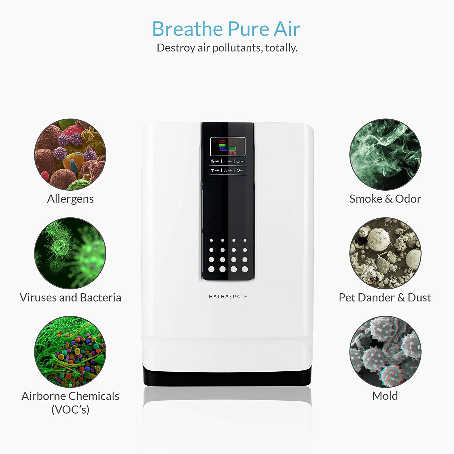 Hathaspace Smart True HEPA Air Purifier Giveaway Giveaway Image