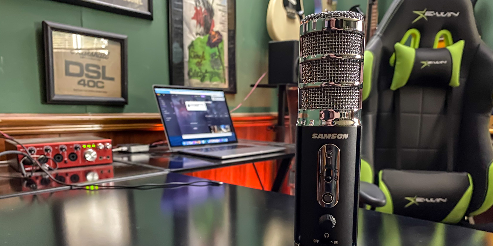 Samson Satellite USB/iOS Broadcast Microphone for Recording, Podcasting and Streaming (SASAT, $99.99) Giveaway Image
