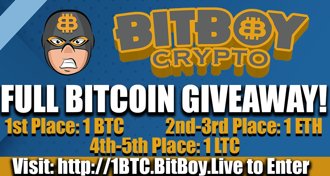 BitBoy Full Bitcoin Giveaway!