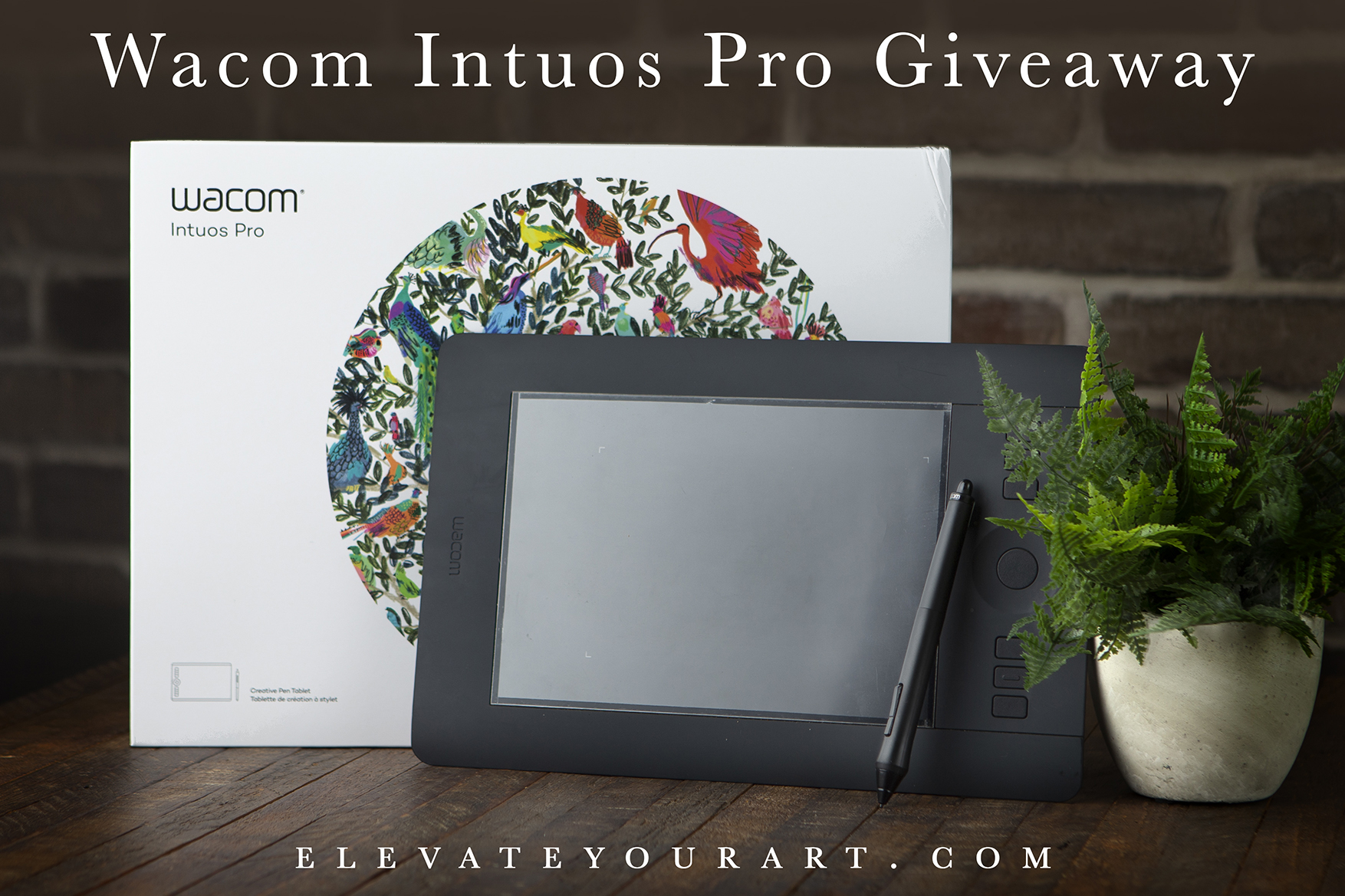 Enter to win a Wacom Intuos Pro drawing tablet Giveaway Image