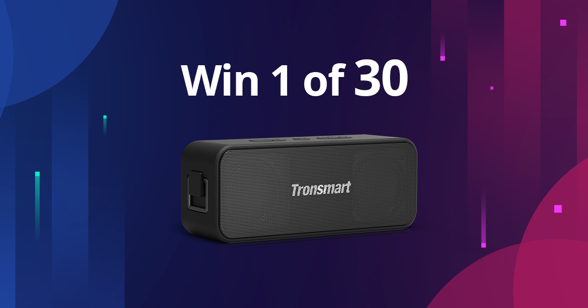 Win 1 of 30 Element T2 Plus Portable Bluetooth Speaker Giveaway Image