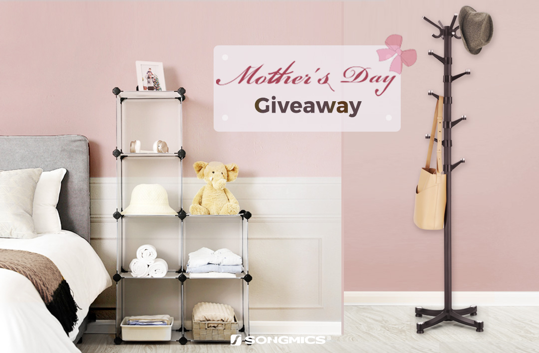 SONGMICS Mother's Day Giveaway Giveaway Image