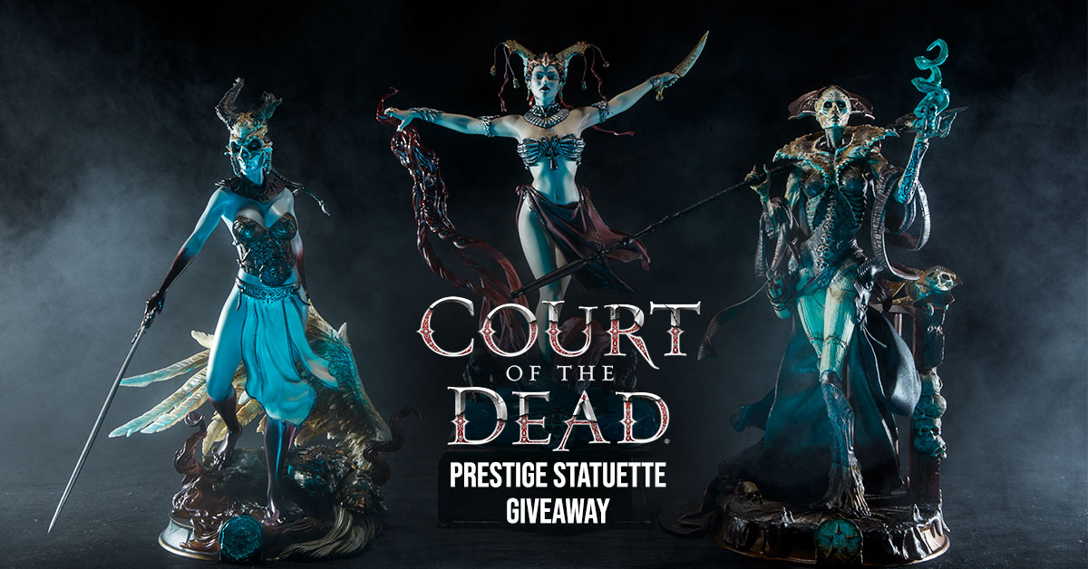Famous Monsters SDCC 2019 : Sideshow Collectibles Court of the Dead Giveaway Giveaway Image