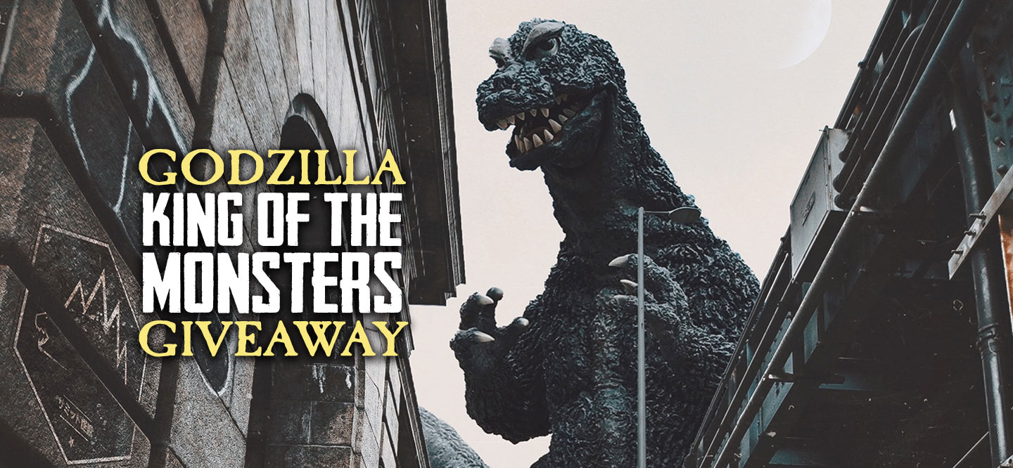 Godzilla: King of the Monsters Giveaway!  (some excl.) Giveaway Image