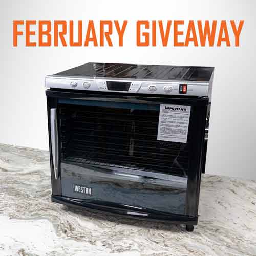 Win a Weston Dehydrator 80L Pro Series Giveaway Image