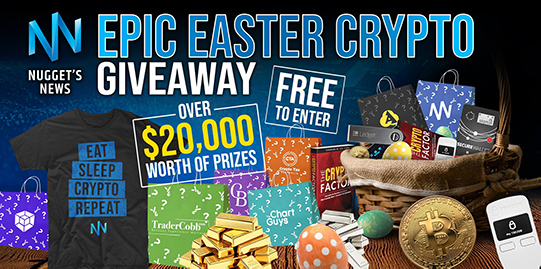 Nugget's News $20,000 Epic Easter Crypto Giveaway Giveaway Image