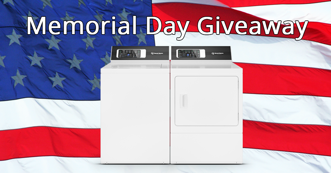 Win a Speed Queen Washer and Dryer Giveaway Image