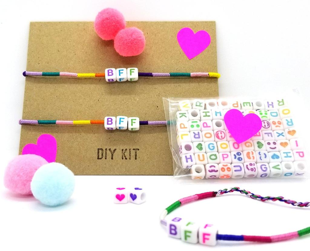 Enter for a chance to win a DIY BFF & Pom Pom Bracelet Kit from Anytownusa.com! Giveaway Image