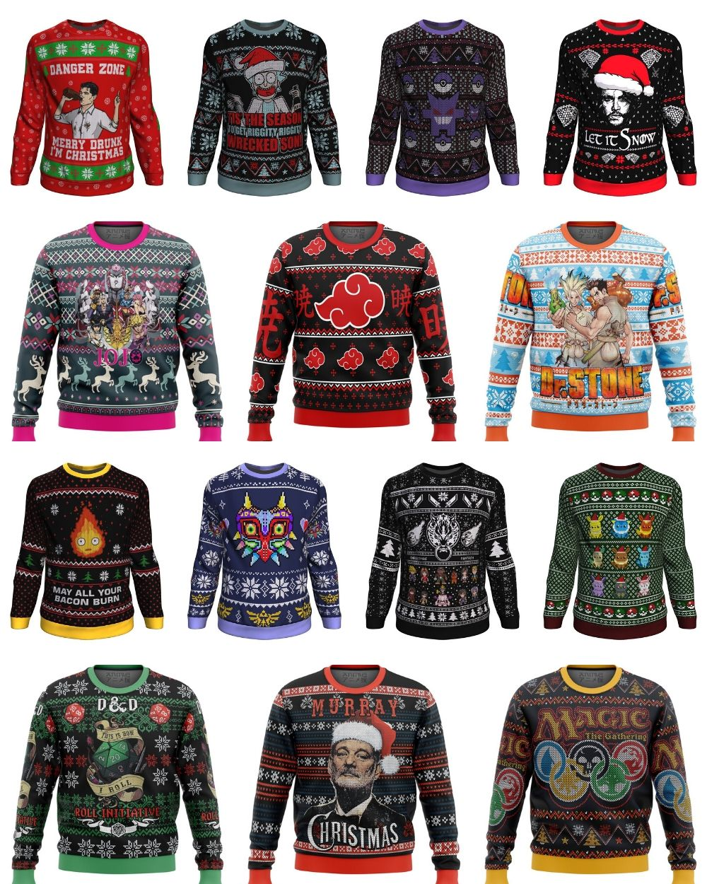 WIN a Xmas Sweater of your choice & more! Giveaway Image