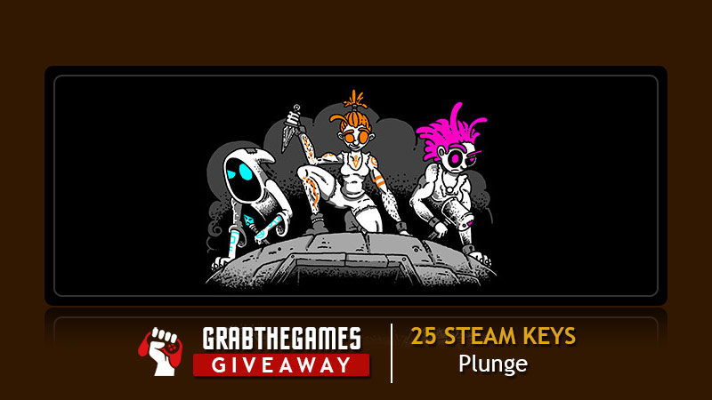 Enter to win a PC Steam copy of Plunge. 25 Winners! Giveaway Image