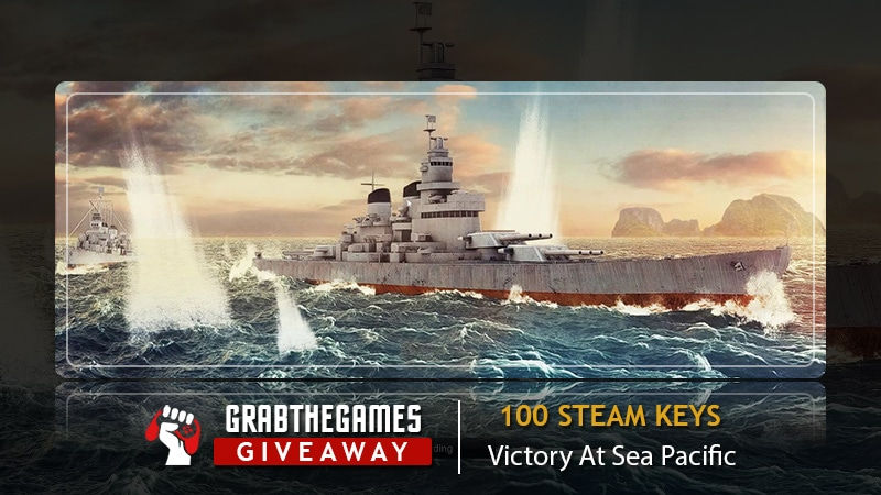 1 Out Of 100 Victory At Sea Pacific Steam Keys  {03/04/2021 Giveaway Image