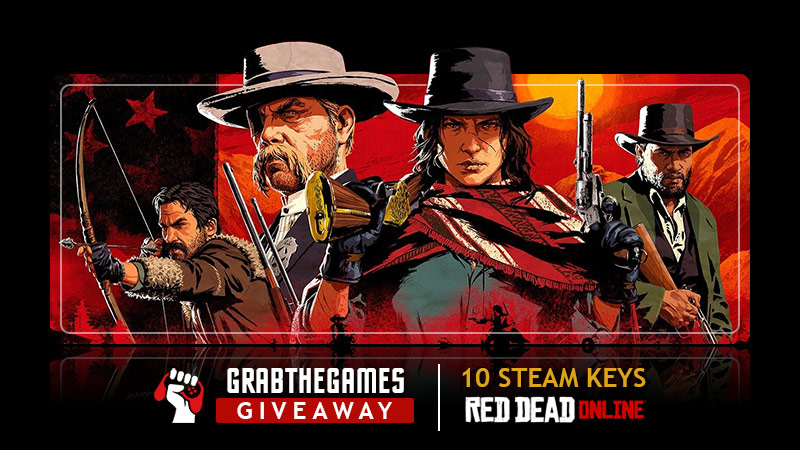 Enter For A Chance To Win 1 Out Of 10 Red Dead Online Steam Keys  {02/25/2021} Giveaway Image