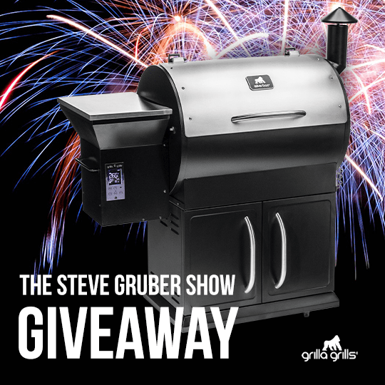 Enter the Grilla Grills x Steve Gruber Independence Day Giveaway!