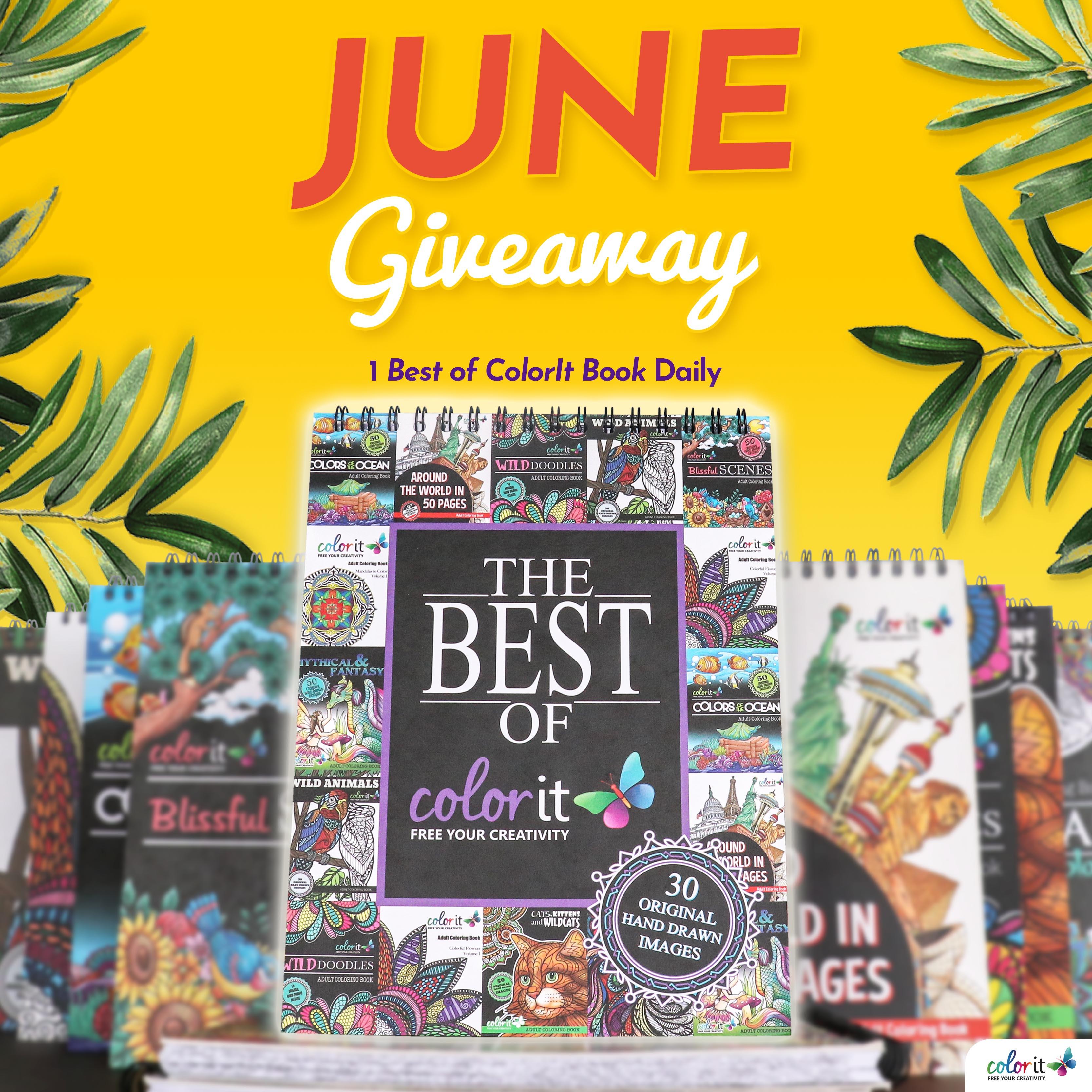 June 2019 Best of ColorIt Coloring Book