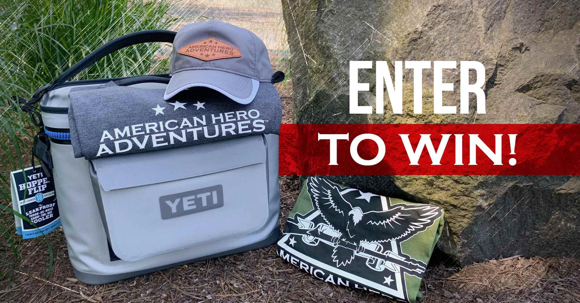 Win a YETI® Hopper Flip Cooler!! Giveaway Image