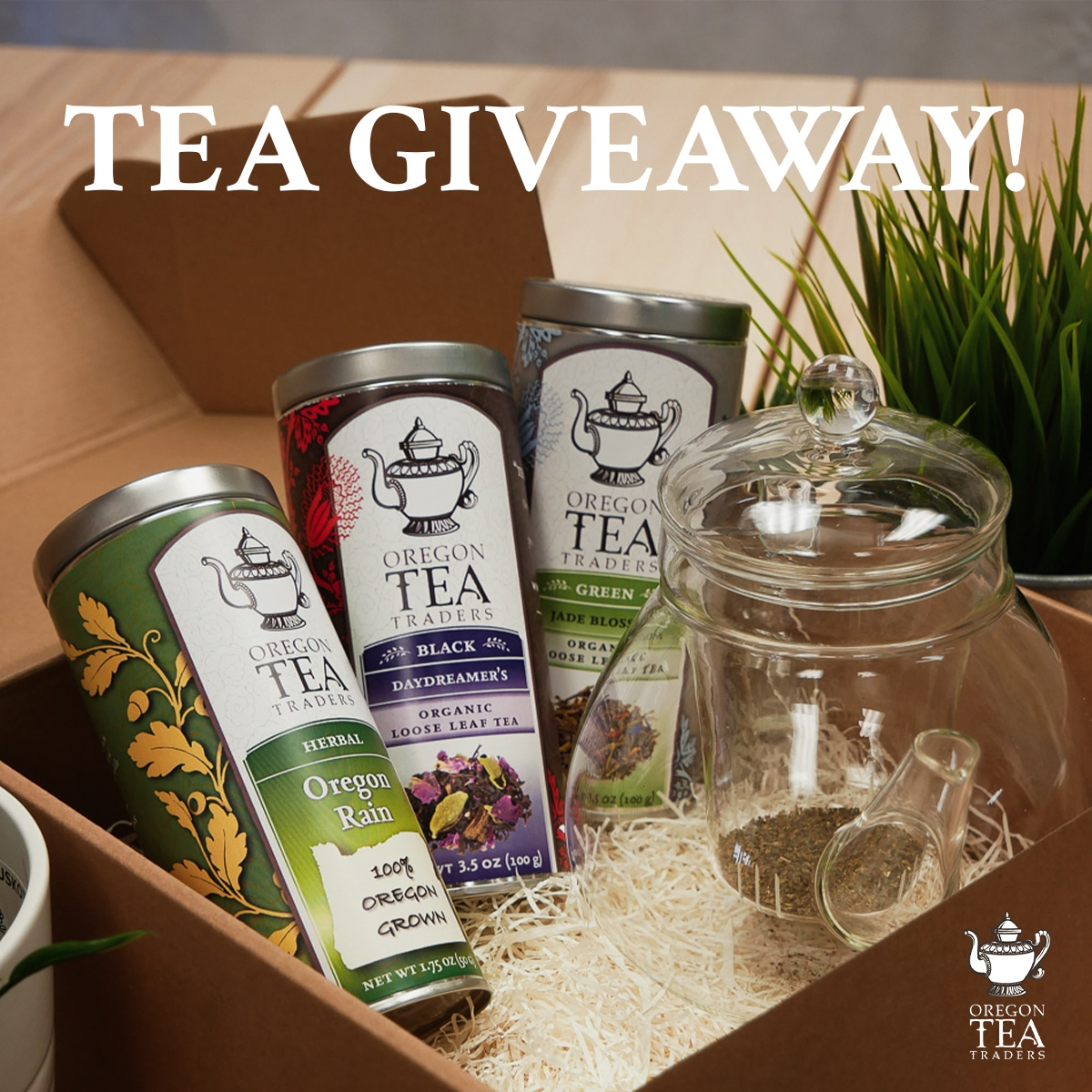 Tea and Accessories Giveaway Giveaway Image