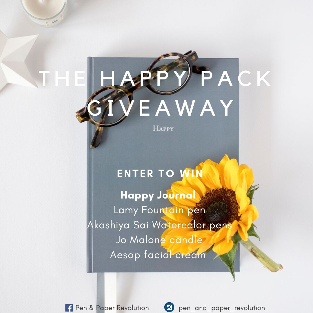 The Happy Pack - a Giveaway by Pen and Paper Revolution