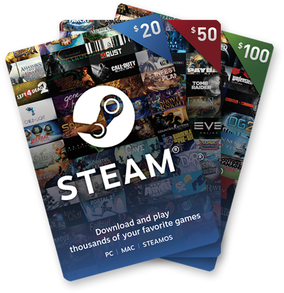 Steam Gift Card Giveaway Giveaway Image