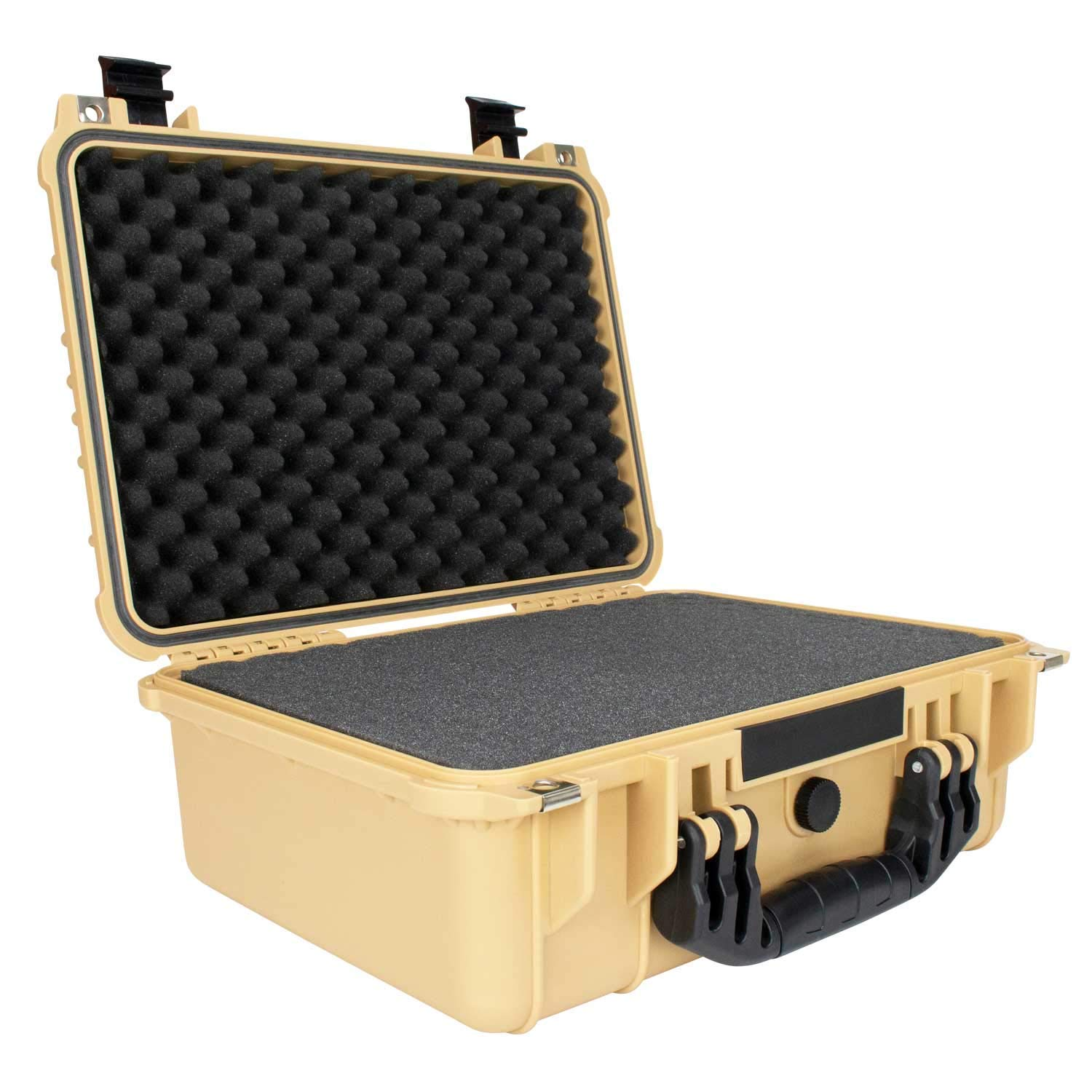 Enter for a chance to win an Elkton Outdoors Hard 4 Pistol Gun Case with Locking Holes and Auto Pressure Adjustment Giveaway Image