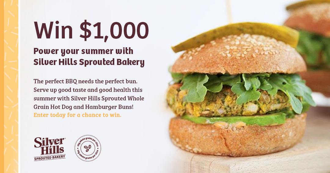 Win $1,000 To Power Your Summer With Silver Hills Sprouted Bakery