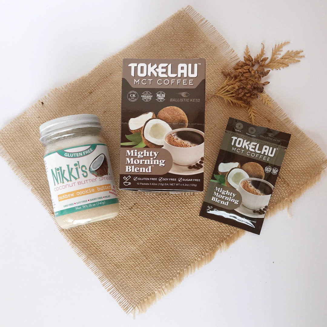 Tokelau Mct Coffee + Nikki's Coconut Butter Giveaway