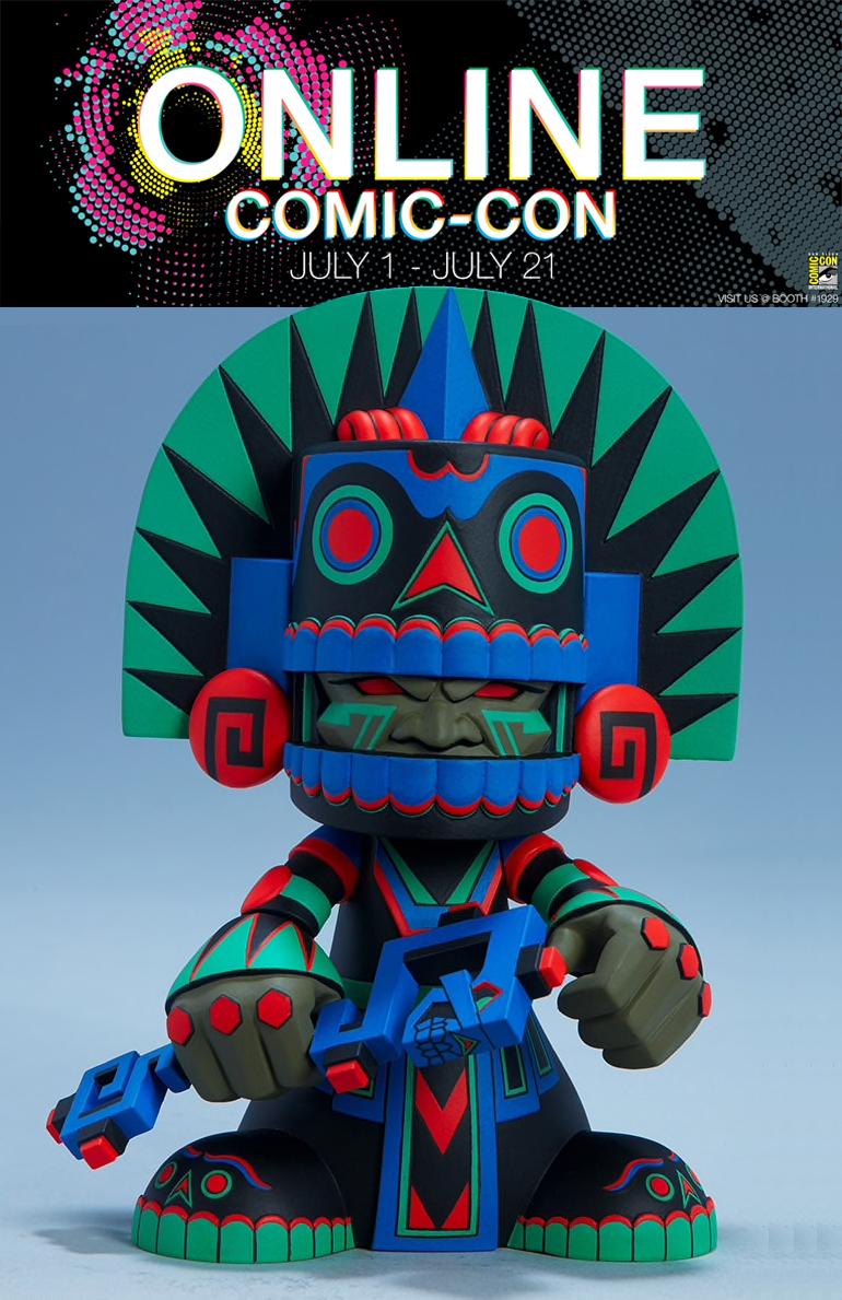 Online Comic-Con: Mictlan 'Unruly Variant' Giveaway Image