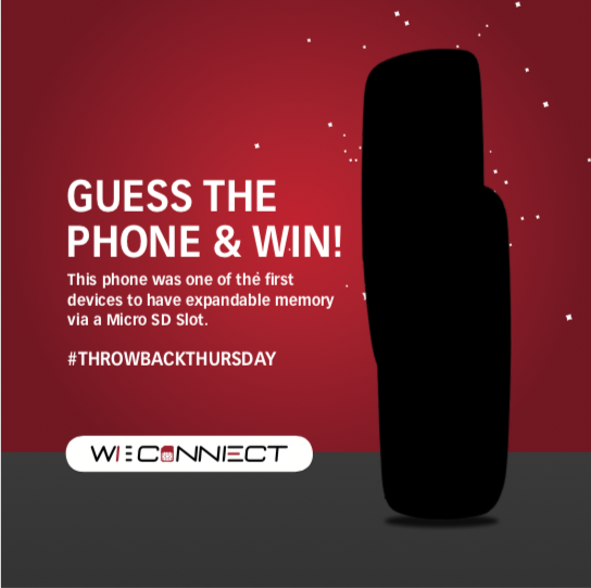 WI CONNECT - Guess The Phone (June) Giveaway Image