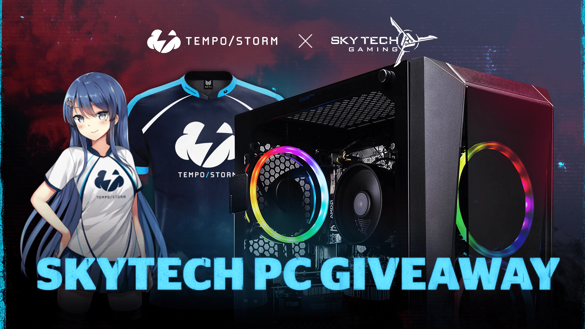 online contests, sweepstakes and giveaways - Skytech Gaming PC Giveaway