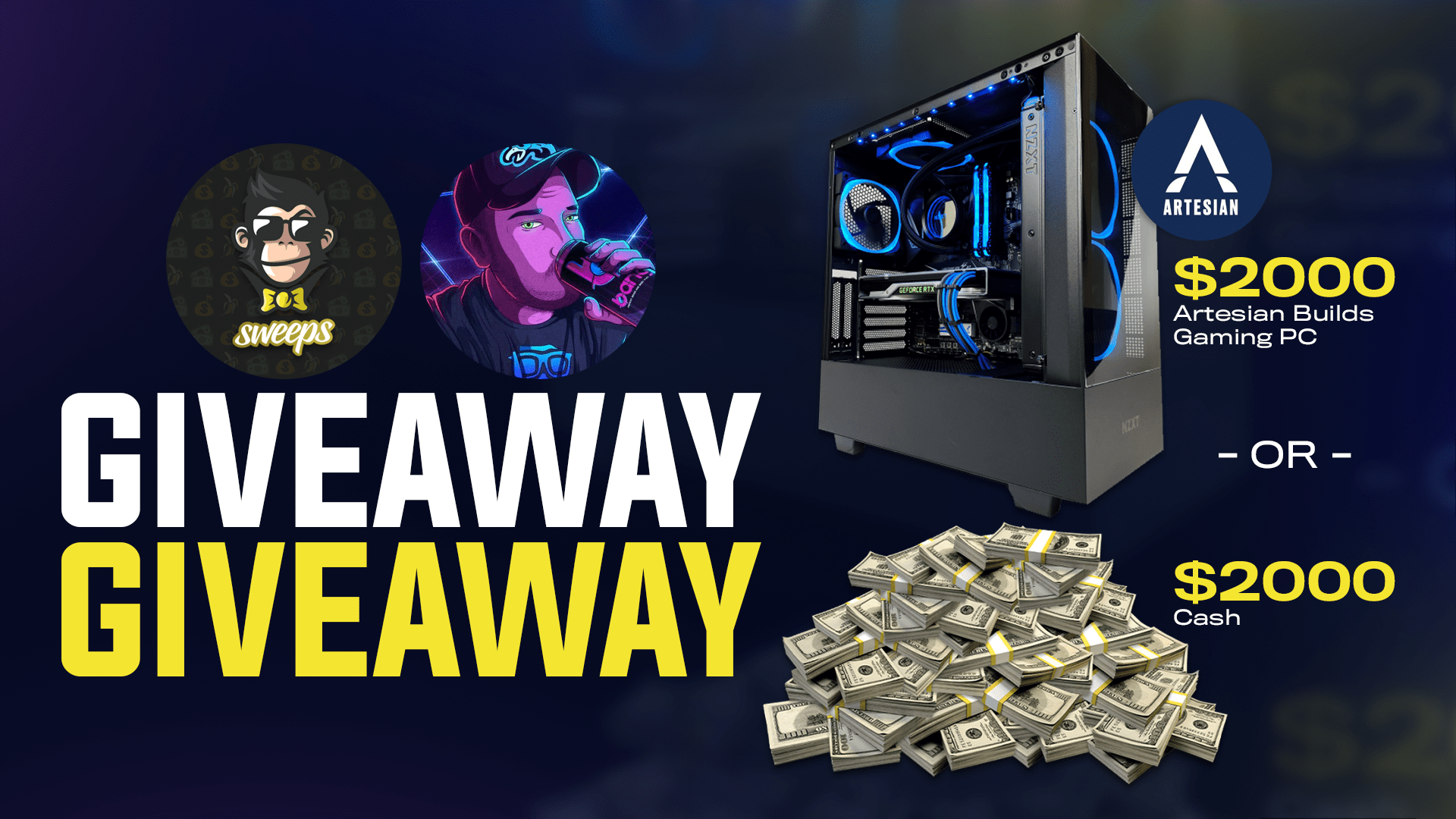 $2,000 Artesian Builds Gaming PC Giveaway