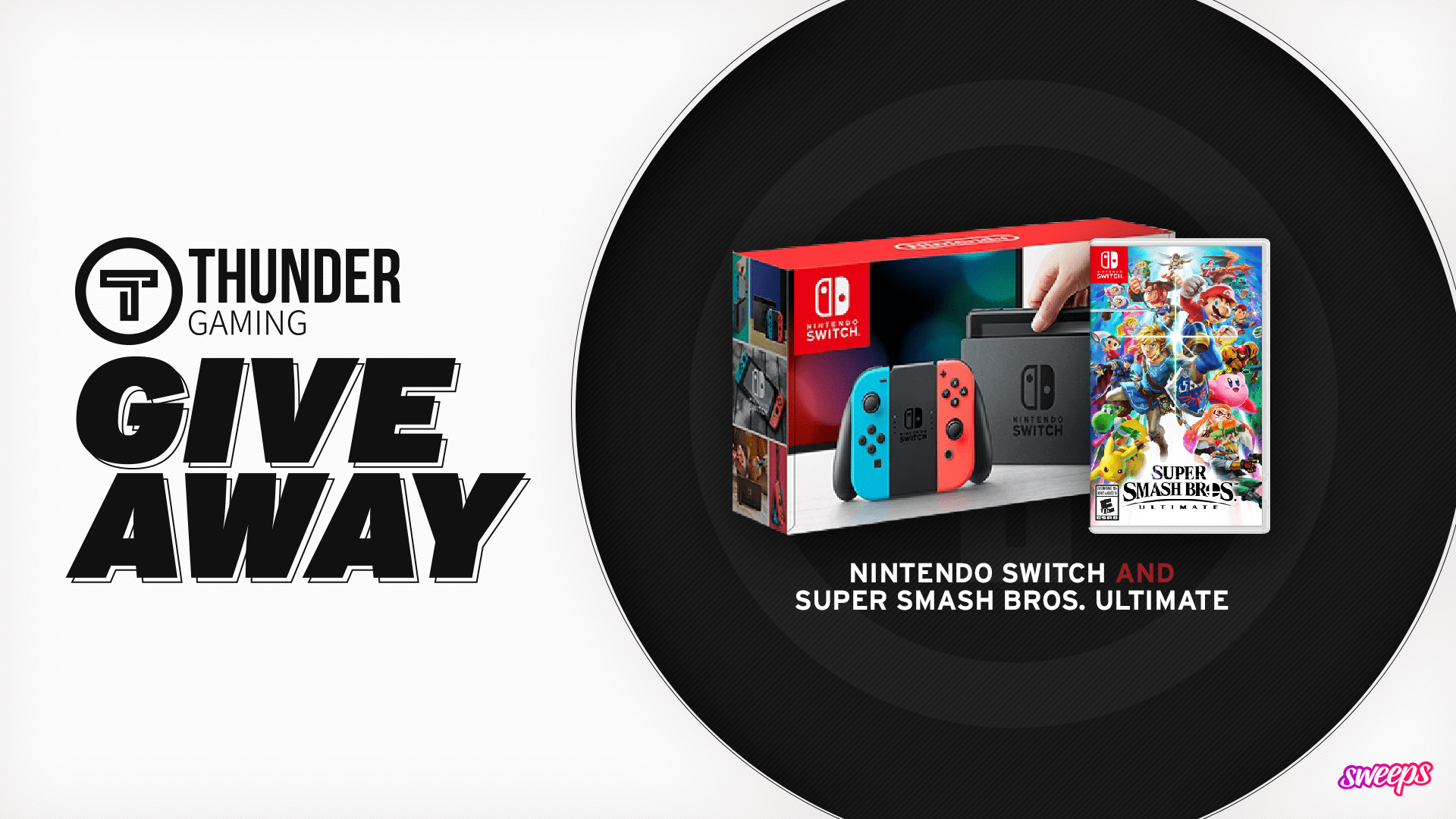 Nintendo Switch and Super Smash Bros. Ultimate Giveaway Giveaway Image