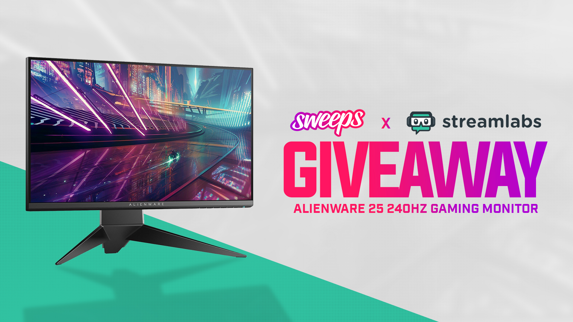 Alienware 25 250Hz Gaming Monitor Giveaway Giveaway Image