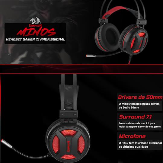 Redragon Minos H210 Headphone Givewaway Giveaway Image