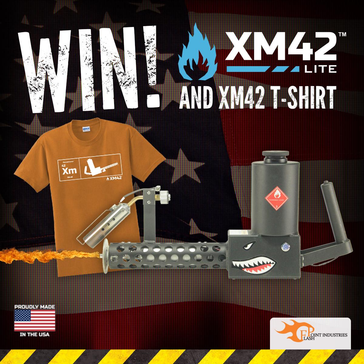 XM42 Lite Flamethrower Giveaway