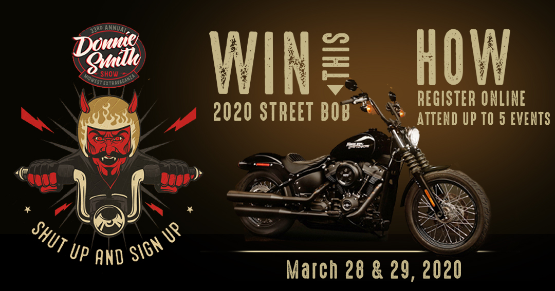 Enter to win a Harley Davidson 2020 Street Bob Giveaway Image