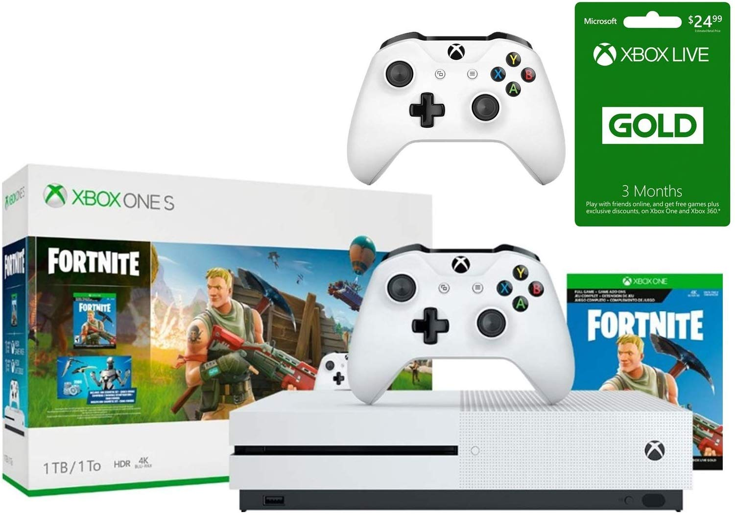 Xbox One Fornite Console Bundle Giveaway Image