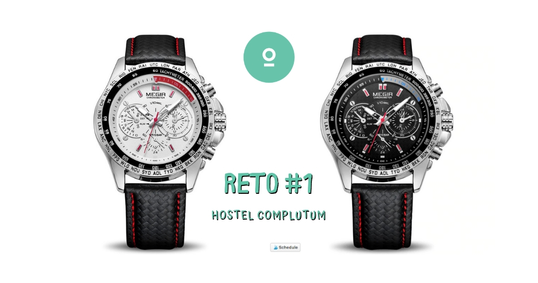 Watch White or Black - Hostel Complutum Giveaway Image