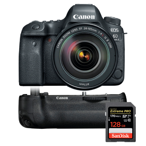 Win a Canon, Sony or Nikon Camera Gear Price Pack Giveaway Image