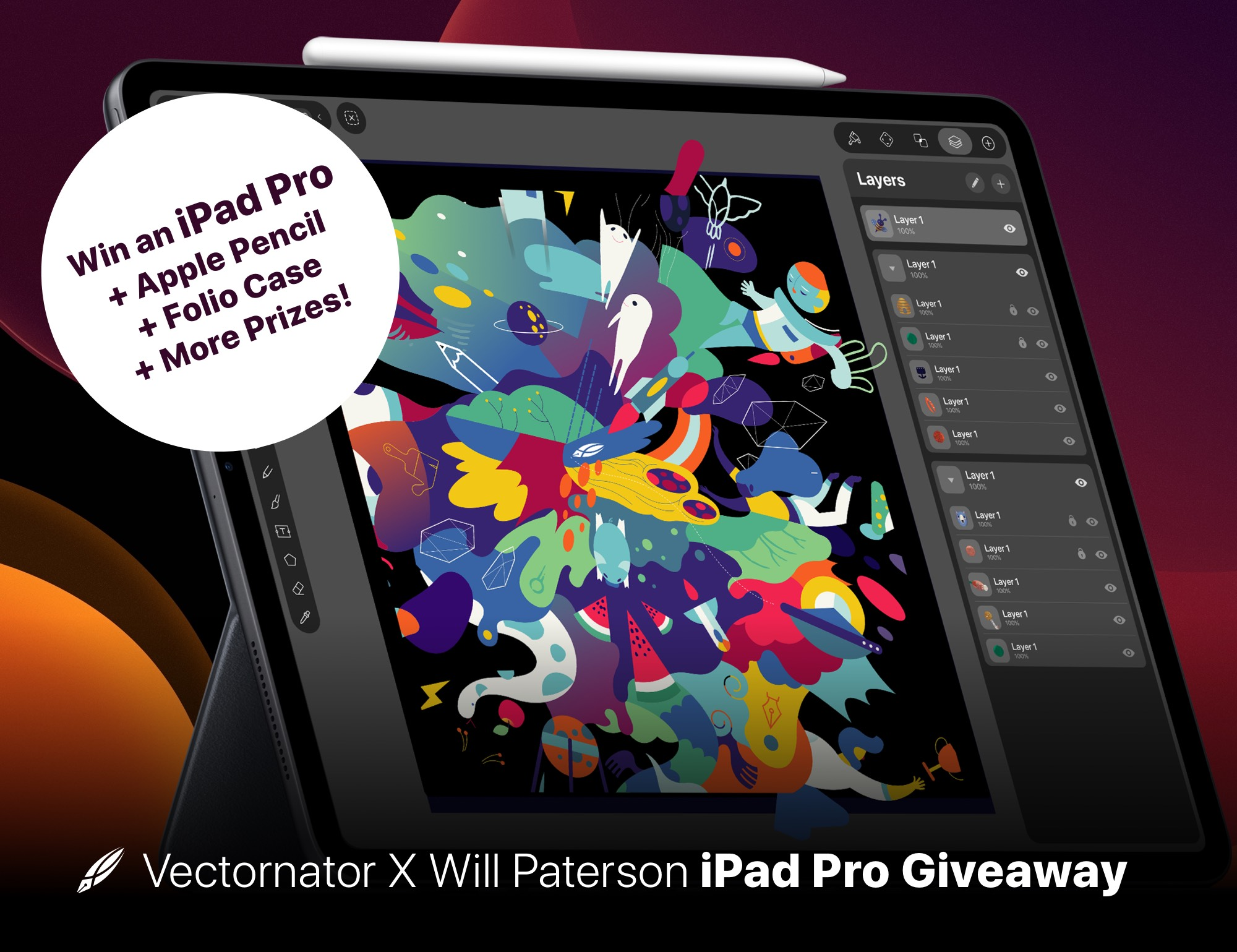 iPad Pro 2018 with Apple Pencil 2nd Gen, Folio Case and more!