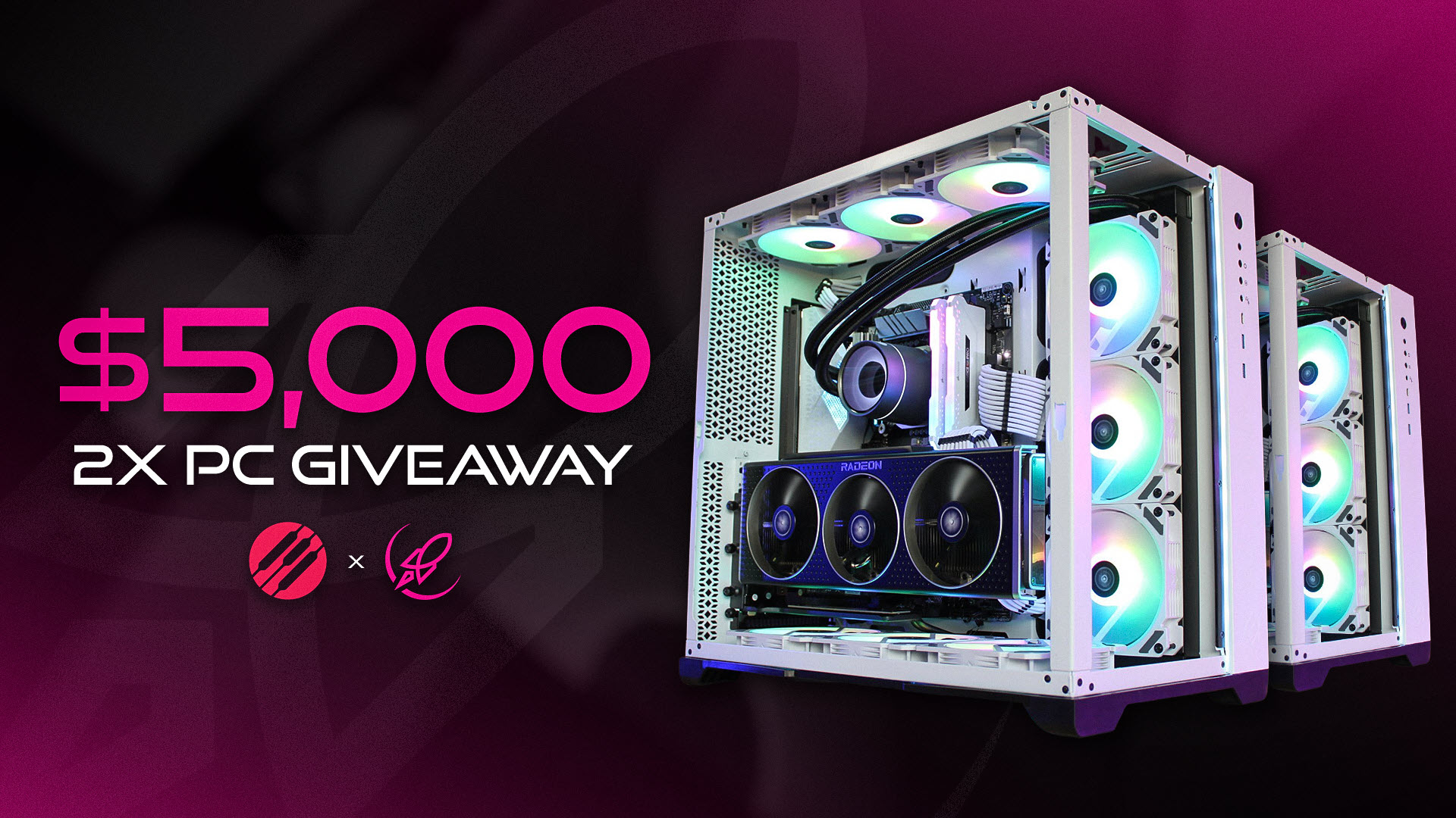 online contests, sweepstakes and giveaways - $5,000 2x Gaming PC by CLU Coin