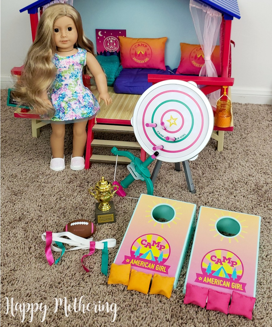 Enter for a chance to win the Camp American Girl Outdoor Games Set with retail value of $50! Giveaway Image