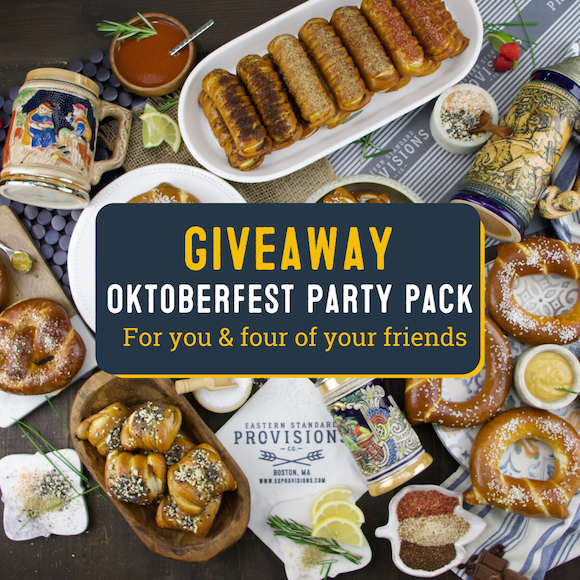 Win an Oktoberfest Party Pack for you and Four of your Friends! Giveaway Image