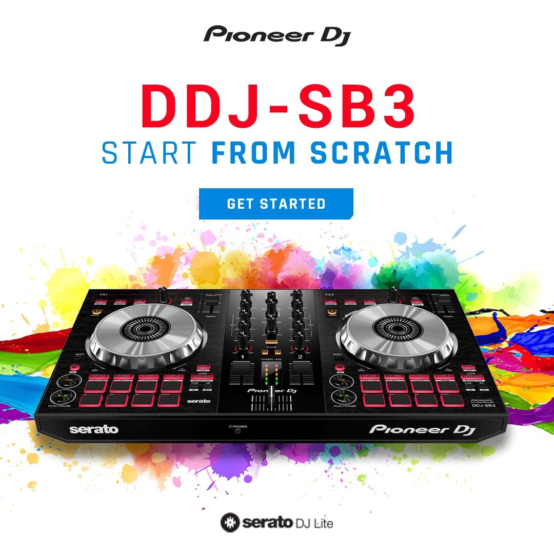 EDM.com Presents: Pioneer DDJ-SB3 Giveaway