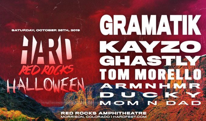 Win 2 Tickets To Hard Red Rocks From The Dopest Parents In Edm - Mon N' Dad